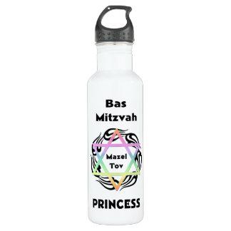 Bas Mitzvah Princess 24oz Water Bottle