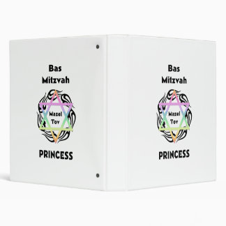 Bas Mitzvah Princess Binder