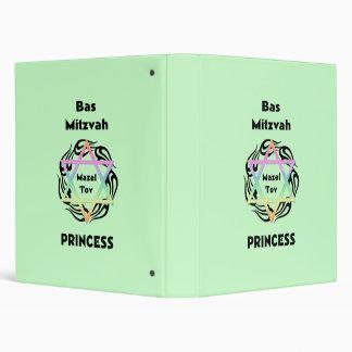 Bas Mitzvah Princess Binders