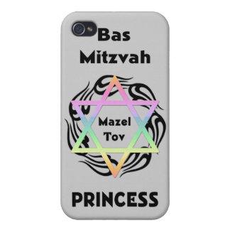 Bas Mitzvah Princess iPhone 4 Cases