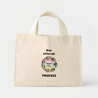 Bas Mitzvah Princess Mini Tote Bag