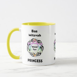 Bas Mitzvah Princess Mug