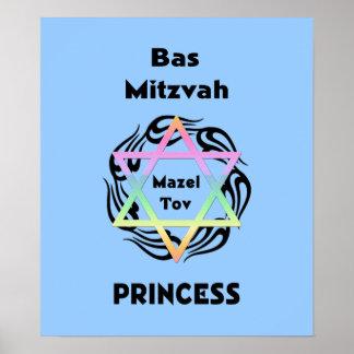 Bas Mitzvah Princess Poster