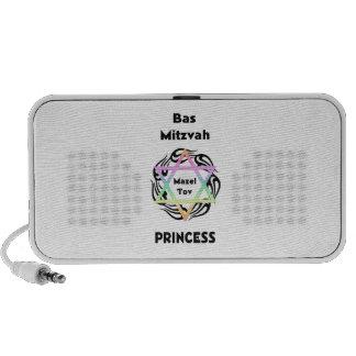 Bas Mitzvah Princess Travelling Speakers