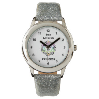 Bas Mitzvah Princess Wrist Watch