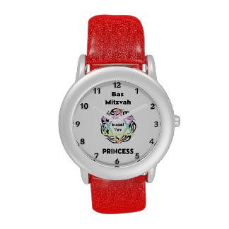 Bas Mitzvah Princess Wrist Watches