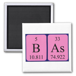 Bas periodic table name magnet