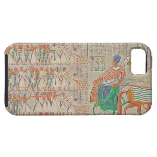 Bas-relief at Medynet-Abou, Palace of the Kings at iPhone SE/5/5s Case