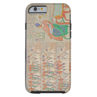 Bas-relief at Medynet-Abou, Palace of the Kings at Tough iPhone 6 Case