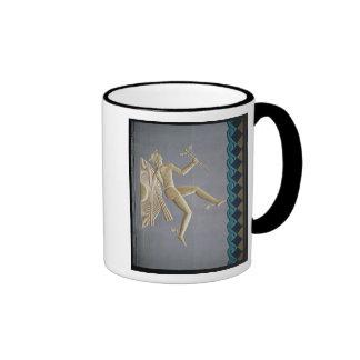 Bas-relief depicting Mercury Coffee Mug