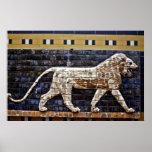 Bas Relief, Ishtar Lion Gate - Istanbul Print