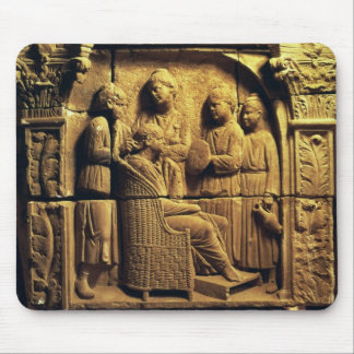 Bas relief of a hairdresser, Roman Mouse Pad