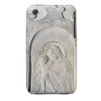 Bas-relief of a Madonna and Child (marble) Case-Mate iPhone 3 Case