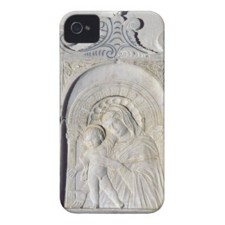 Bas-relief of a Madonna and Child (marble) iPhone 4 Cover