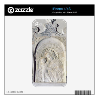 Bas-relief of a Madonna and Child (marble) Skin For The iPhone 4S