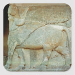 Bas-relief of an anthropomorphic bull sticker