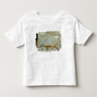 Bas-relief of an anthropomorphic bull toddler t-shirt