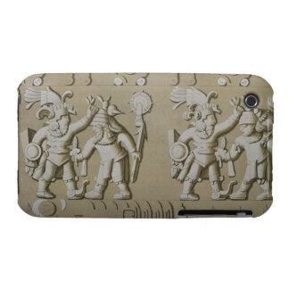 Bas Relief of Ancient Aztec Warriors, from The Sto Case-Mate iPhone 3 Case