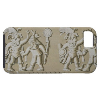 Bas Relief of Ancient Aztec Warriors, from The Sto iPhone SE/5/5s Case