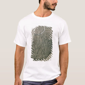 Bas relief of priestesses gathering grapes, 26th-3 T-Shirt
