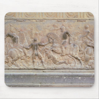 Bas relief panel mouse pad