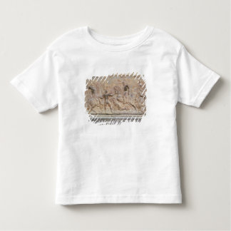 Bas relief panel toddler t-shirt