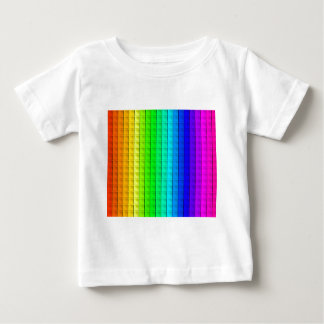 Bas Relief Rainbow Baby T-Shirt