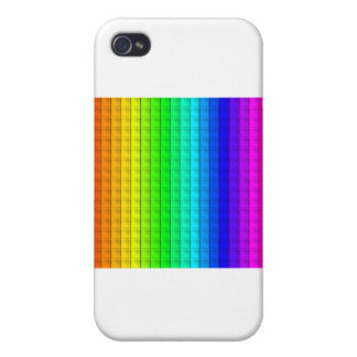 Bas Relief Rainbow Case For iPhone 4