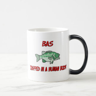 Bas trapped in a human body magic mug