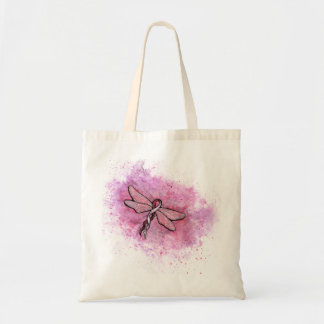 Basal and Squamous cell Carcinoma Awareness Ribbon Budget Tote Bag