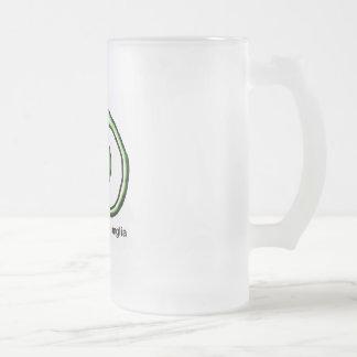 Basal Ganglia Frosted Glass Beer Mug