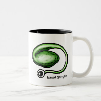 Basal Ganglia Two-Tone Coffee Mug