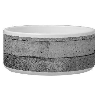Basalt brick wall bowl