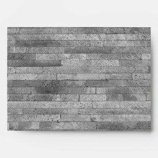 Basalt brick wall envelope