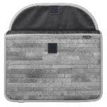 Basalt brick wall sleeve for MacBooks