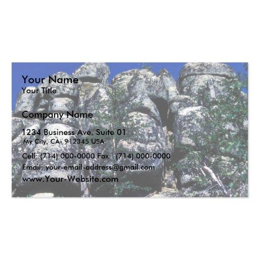 Basalt Columns Business Card