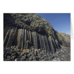 Basalt Columns by Fingal's Cave, Staffa, off Card