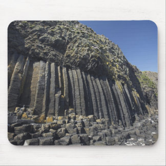 Basalt Columns by Fingal's Cave, Staffa, off Mouse Pad