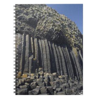 Basalt Columns by Fingal's Cave, Staffa, off Notebook