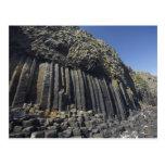 Basalt Columns by Fingal's Cave, Staffa, off Post Card