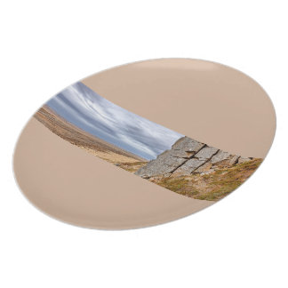 Basalt columns in Gerduberg Iceland Plate