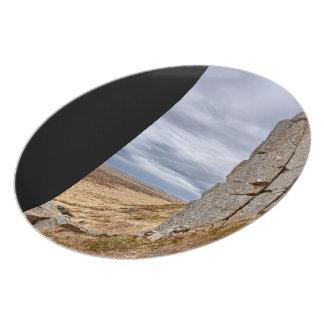 Basalt columns in Gerduberg Iceland Plates