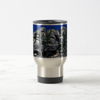 Basalt Columns Travel Mug