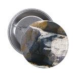 Basalt Rock Dike Button Pin