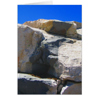 Basalt Rock Dike Geology Note Card