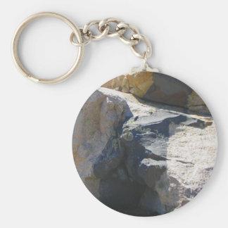 Basalt Rock Dike Key Chain