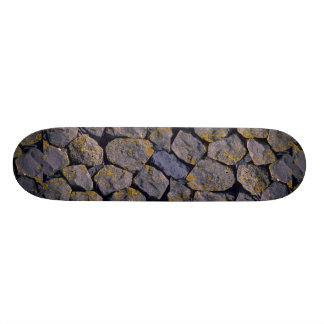 Basalt rocks custom skate board