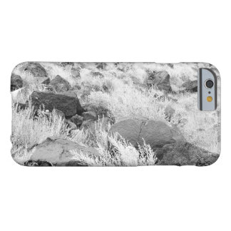 Basalt Rocks in Desert Grass Field Barely There iPhone 6 Case