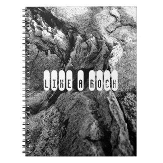 Basalt rocks note book