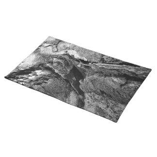 Basalt rocks placemat